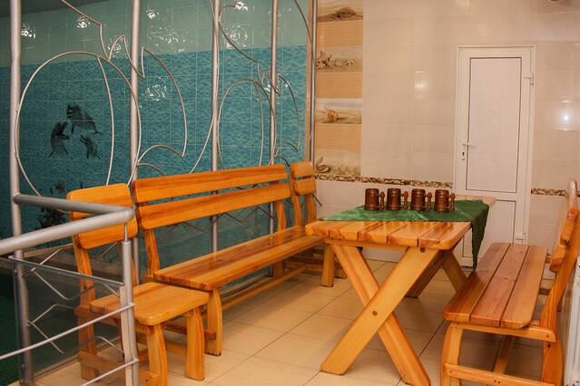 Комната отдыха в сауне №2